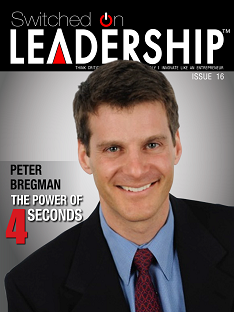 Peter Bregman Interview In Switched On Leadership Magazine