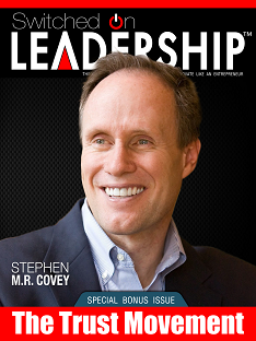 Stephen M.R. Covey Interview In Switched On Leadership Magazine